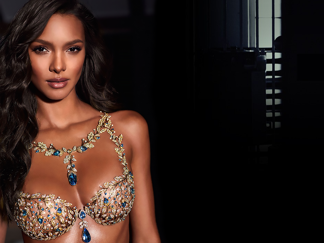 5dab0d5e8d Watch Victoria s Secret Angel Lais Ribeiro Model a  2 Million Bra ...